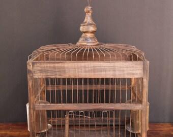 French vintage birdcage
