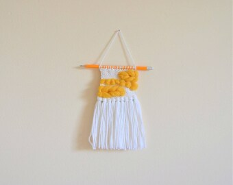 Small Pencil Mounted Wall Hanging