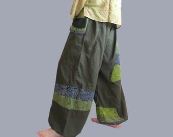 Baggy Pants  - Wide Leg pants - hippie - Wellness Pants