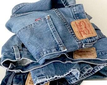 Vintage Levis Jeans | Red Tab Vintage Levi 517 High Waisted Levi | W29 Levis 517