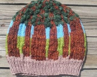 Sequoia National Park Beanie Knitting Pattern