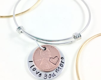 Long distance relationship girlfriend, Long distance girlfriend gift, I love you more necklace, Couples gift for couples necklace