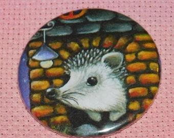CLEARANCE, Seconds stock, Hedgehog Needle Minder, Licensed, Cross Stitch Keeper, Tanya Bond Art, Fridge Magnet, Button Magnet, Pin Holder