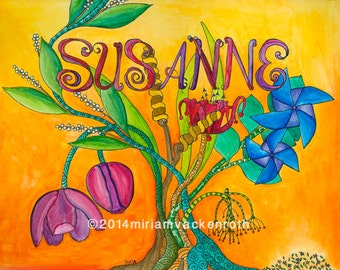 Names with a meaning - Susanne