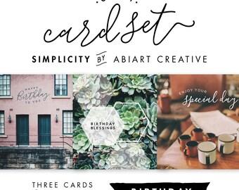 Simplicity | Cutesy Card