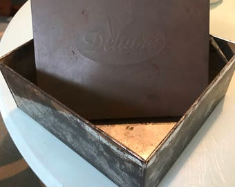 Vintage Delacre cookie tim