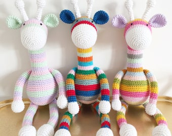 Crochet / Amigurumi giraffe Made to order.