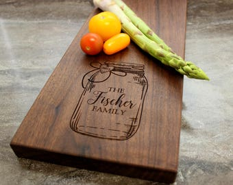 Personalized Cheese Board, Serving Board, Bread Board, Custom, Engraved, Wedding Gift, Housewarming Gift, Anniversary Gift, Engagement #21