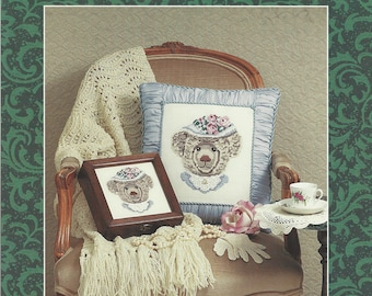 """Clearance - """"Charlotte""""  Counted Cross Stitch Chart by Just Nan Designs"""