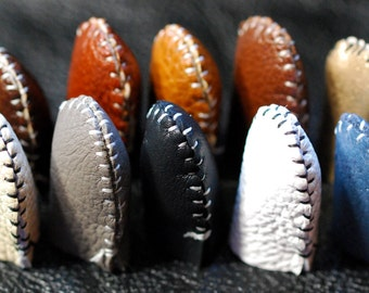 Amazing Handmade Leather Thimble (1)