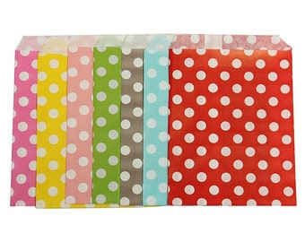Polka dot candy loot party bags x 200