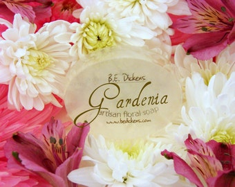 Gardenia.  Soap From the Flower Garden