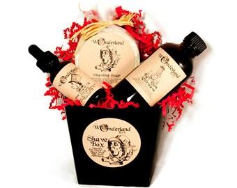Men's Shaving Gift Box, Valentine Gift, Shave Set, Shave Kit, Gift For Him, Groomsmen Gift, Aftershave, Shave Soap, Shaving & Grooming