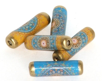 Indian paper beads