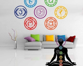 7 chakras wall paper for your home decor