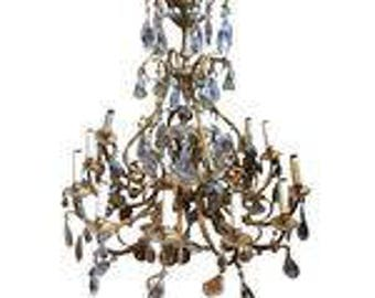 Fruit chandelier etsy large murano style fruit chandelier aloadofball Images