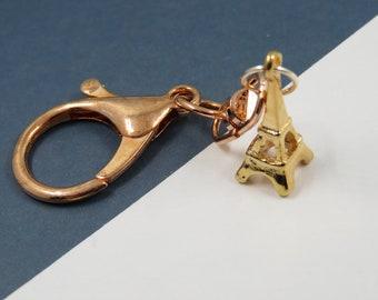 Eiffel Tower keychain - Eiffel Tower keyring - personalized Paris gift - Eiffel Tower jewel - porte clé Tour Eiffel Paris