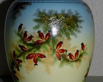 1930s Porcelain Potpourri Jar