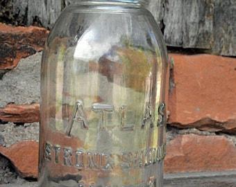Atlas Strong shoulder canning jar 60 oz