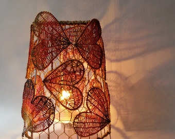 Lamp enchantment pattern heart