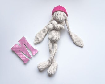Crochet toy. Baby doll. Eco toy. Amigurumi toy. Nursery decor. Baby toy. Stuffed toy. Children toy. Baby shower gift.