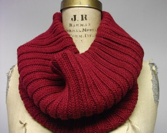 Big Fat Wine Chunky  Cotton Cowl