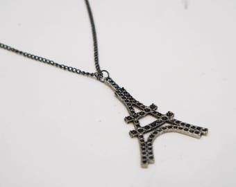 Eiffel Tower Necklace - Paris Necklace - Jewelry - Charm Necklace - Travel Necklace