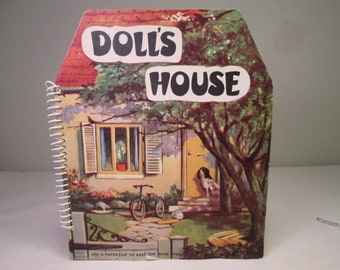 "Vintage Pop-Up Book - ""Doll's House"" - 1950's"