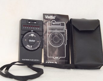 Vivitar EFM-2 Electronic Flash Meter 2 with Carrying Case
