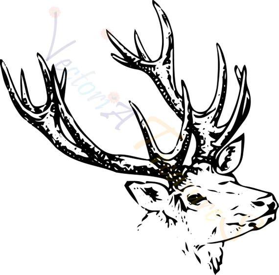 Download deer head svg Deer SVG deer cricut deer head cricut deer