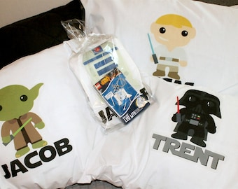 Star Wars Pillowcases - Personalized Star Wars Pillowcase