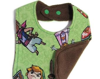 Legend of Zelda & Gang Baby Bib