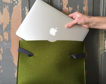 Laptop-sleeve KRYT - 100 % woolfelt