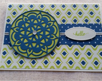 Hello - Handmade Card - Any Occasion