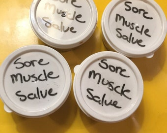 Sore muscle salve
