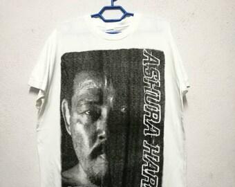 Vintage Ashura Hara Japan Wrestling T-shirt