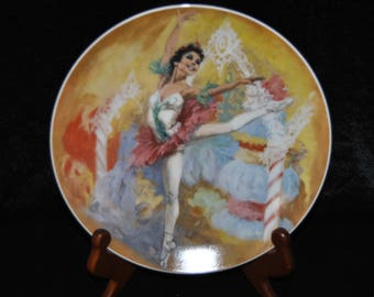 1979 Cllectible Plate, The Sugar Plum fairy
