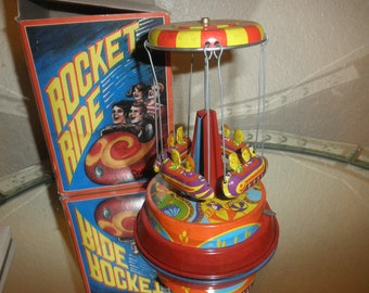 Rocket Ride Carousel Collector Series Not A Toy