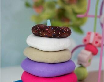 Baby Toy Basics: Stacking Rings Pattern, Blocks Pattern, Balls Pattern