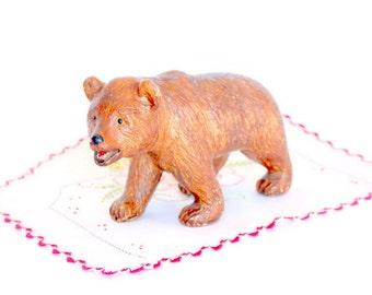 SALE Brown Bear, Solid Chalk