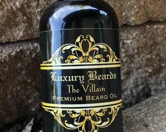 The Villain Premium Beard Oil