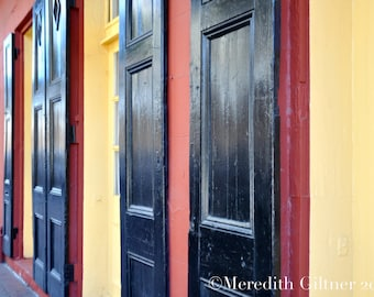 Row of Doors #2- French Quarter, New Orleans