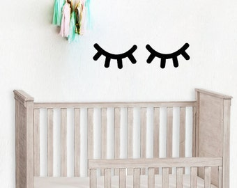 Wall Sticker - Eye Lashes