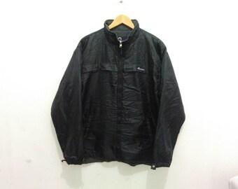Vintage Penfield windbreaker jacket black men's LL fleece lined