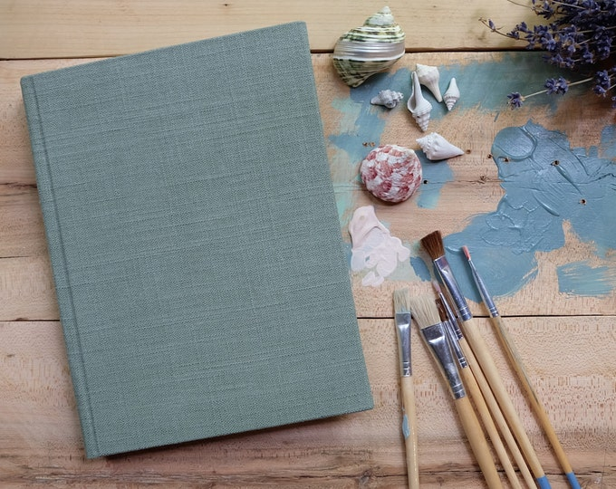 Large Linen Sketchbook
