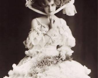Art Print: BoPeep Victorian Portrait