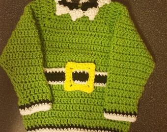Handmade crochet jumper