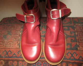 Vtg. Womens Durango Boots W/ Strap/Buckle Size 4.5 D  Made In Brazil