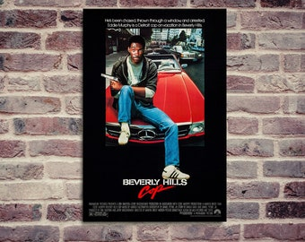 Beverly Hills Cop. Movie poster. Eddie Murphy.