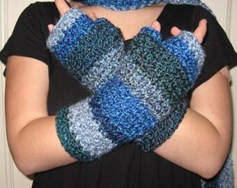 Ocean Blue Wristers